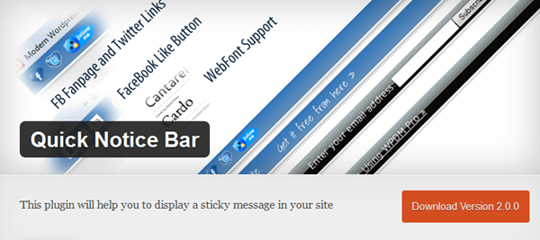 Best WordPress Notification Bar Plugins 9