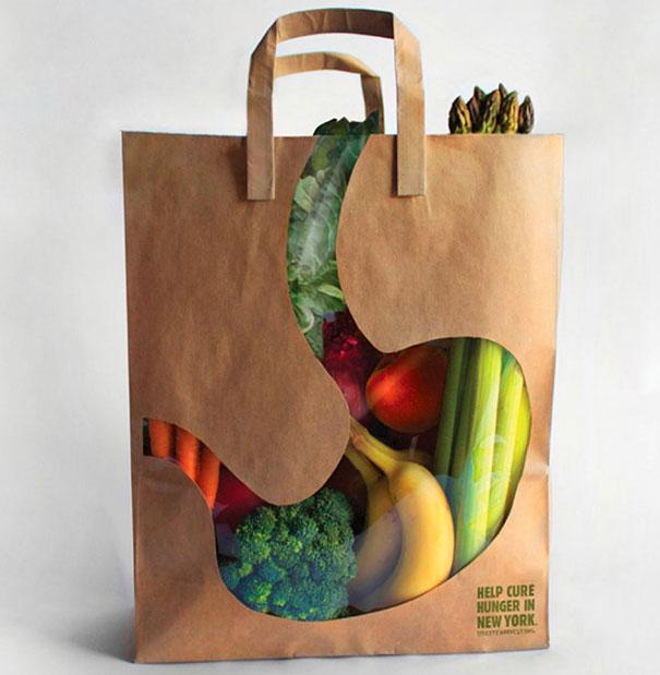 Empty Stomach Bag Product Packaging Designs
