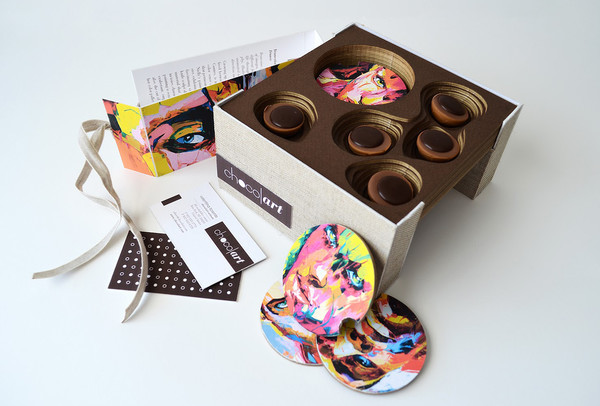 Chocolart Galerie Product Packaging Designs