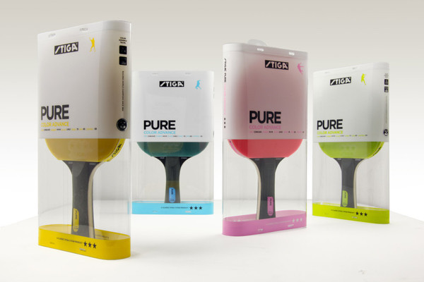 STIGA Table Tennis Product Packaging Designs