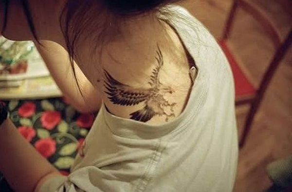 Eagle Tattoo Designs for Girls and Boys21