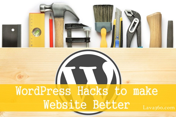 WordPress Hacks to make Website Better