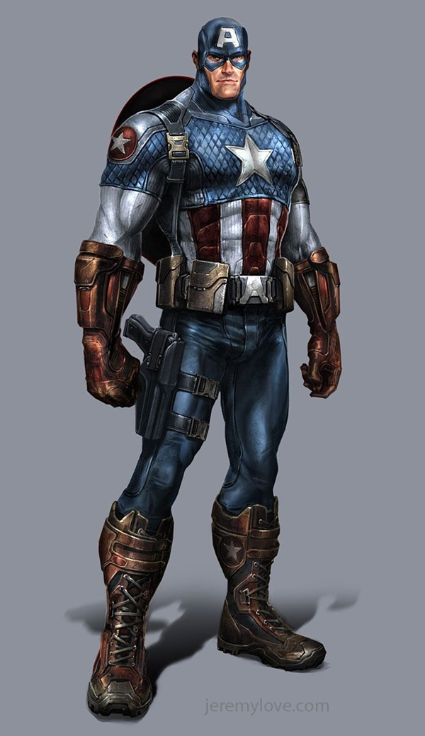 Captain America Fan Art and Illustrations11