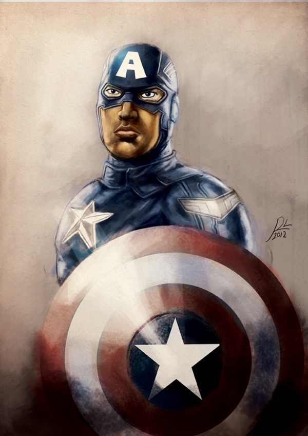 Captain America Fan Art and Illustrations17