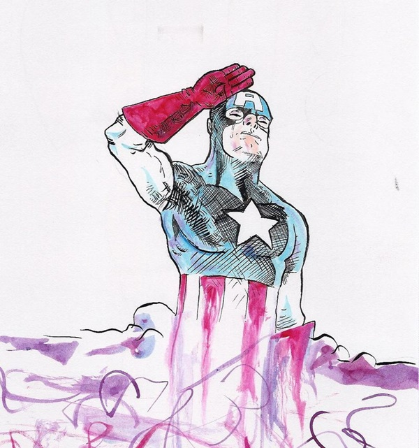 Captain America Fan Art and Illustrations9