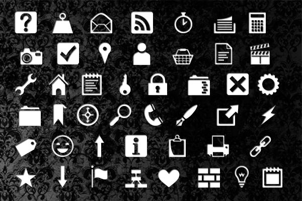 Heydings Common Icons by Heydon Pickering