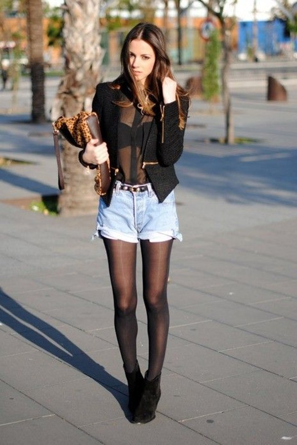denim shorts outfits (8)