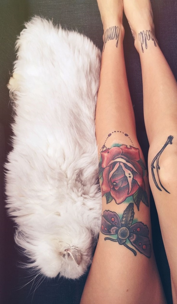 female leg tattoos ideas (28)