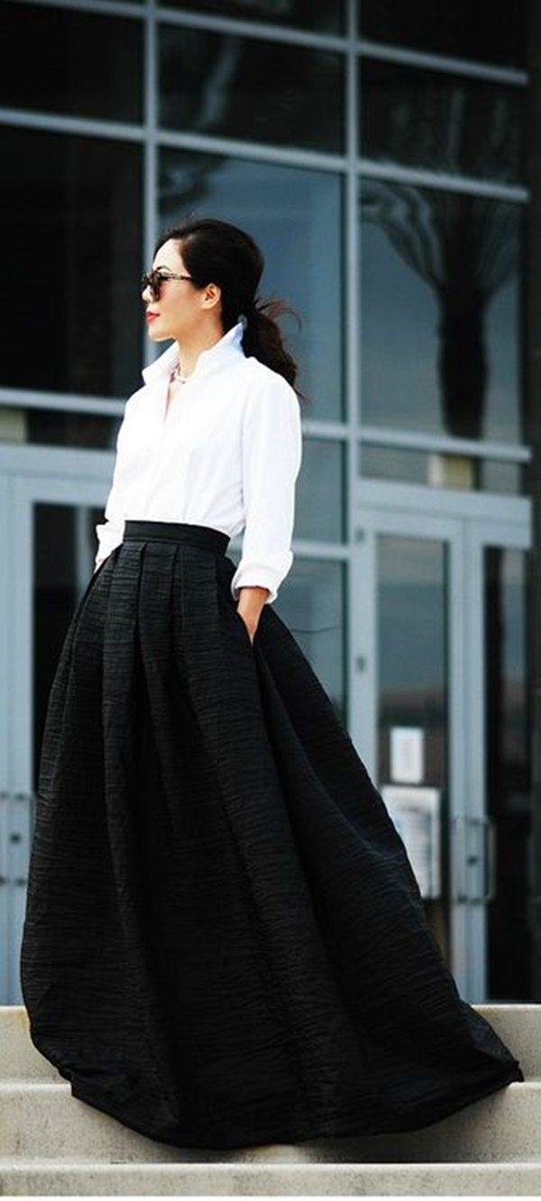 maxi skirt outfits (14)