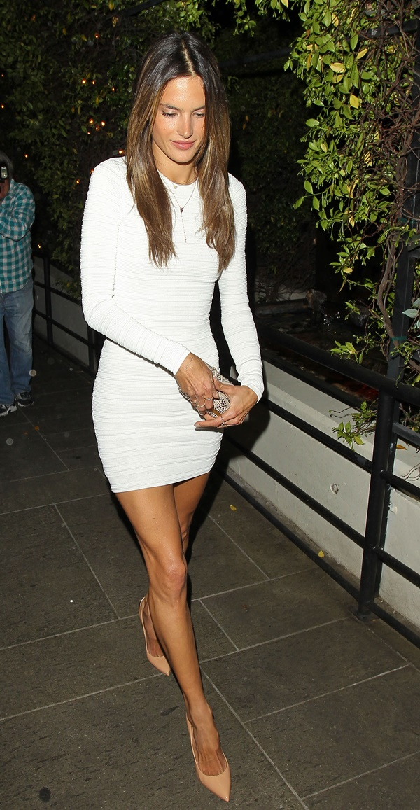 Alessandra Ambrosio at STK steakhouse to celebrate her 32nd birthday Featuring: Alessandra Ambrosio Where: Los Angeles, California, United States When: 10 Apr 2013 Credit: WENN.com