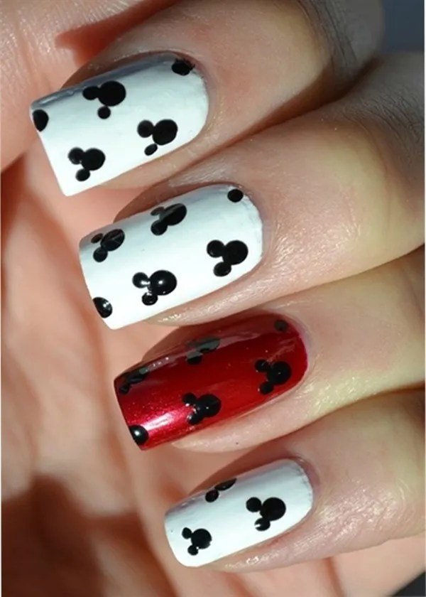 30 Simple And Easy Nail Art Ideas Source