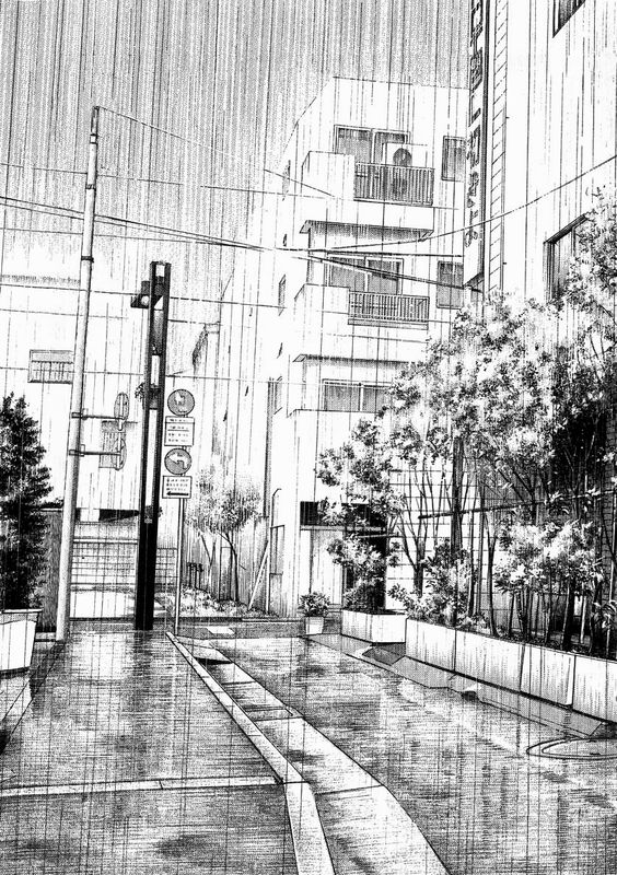 beautiful-manga-rainning-landscape