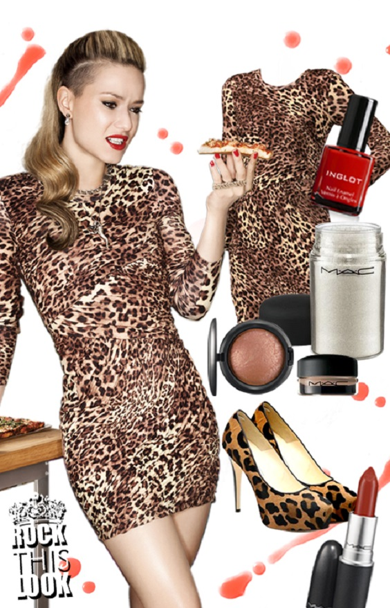 rocking animal print dress trends mix and match