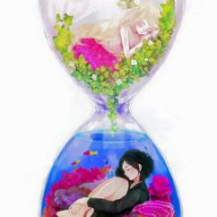 Wallpaper Decoration For Living Room Wall Colours As Per Vastu 60 Very Cute Anime Characters In Bottle - Lava360