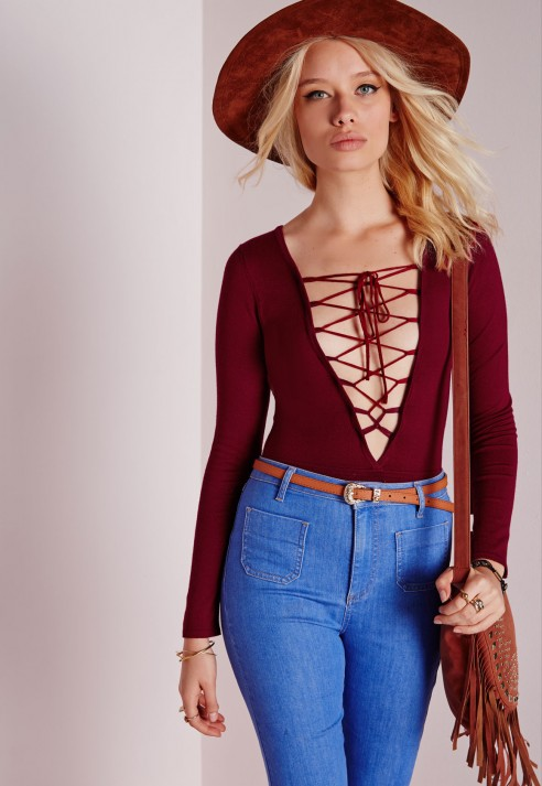 Lace Up Tops 22