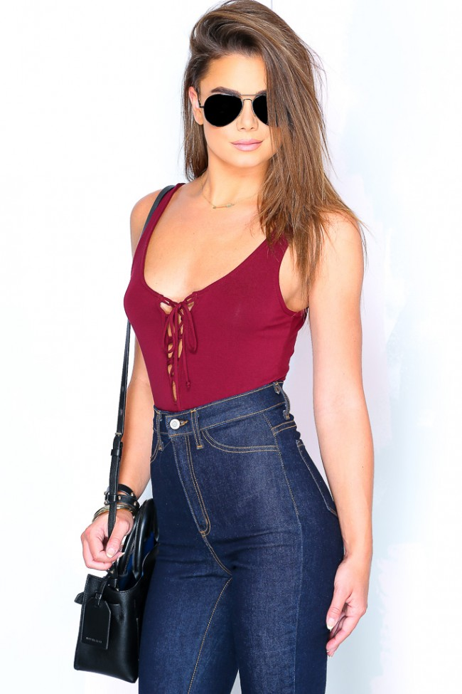 Lace Up Tops 23