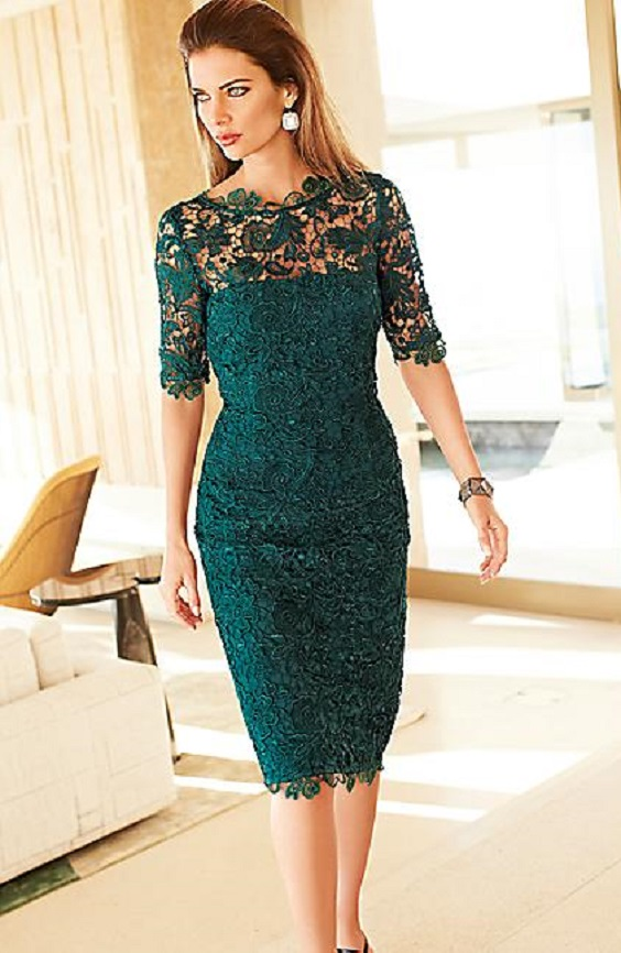 Exquisite Lace Dress