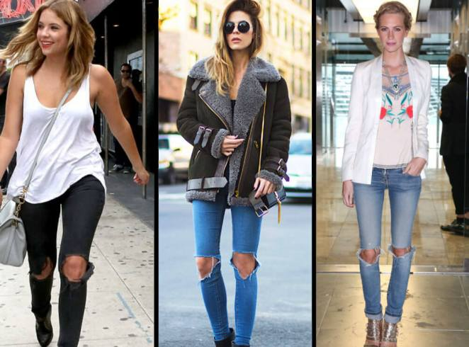 Ripped-jeans-for-women