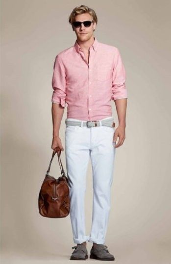 Wear Pink For Men15