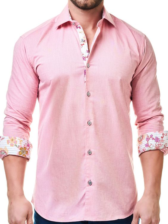 Wear Pink For Men19