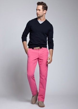 Wear Pink For Men26