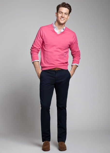 Wear Pink For Men27