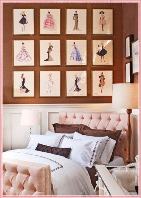 beautiful bedroom wall
