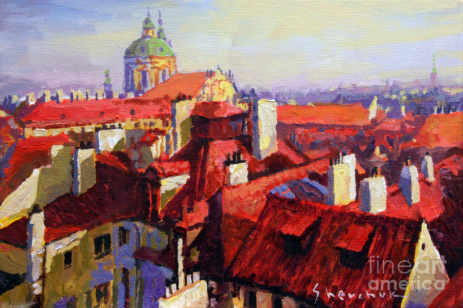 City Landscape French Paintings Stunning