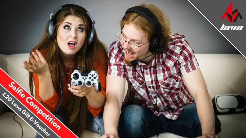 An image showing Lava Esport's selfie sharing competition