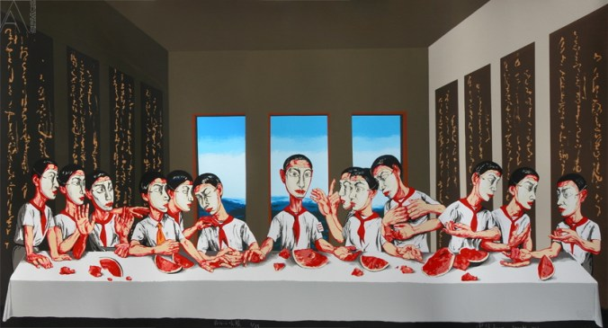 """The Last Supper"", de Zeng Fanzhi"