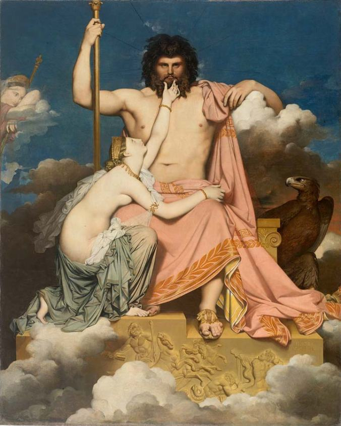 Jupiter et Thétis, 1811 © Photo H. Maertens
