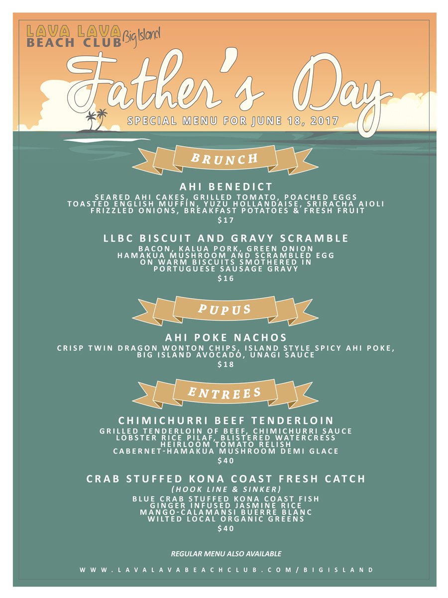 celebrate fatherʻs day at