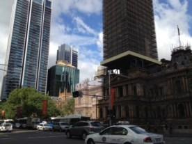 View of Sydney QVB