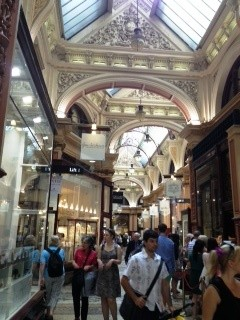 The Block Arcade inside, Melbourne