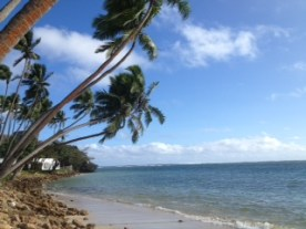 Shangri La 'post card' beach