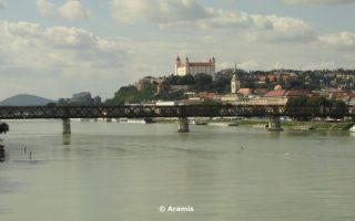 Bratislava in bicicletta