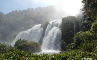 un giorno alle cascate delle Marmore