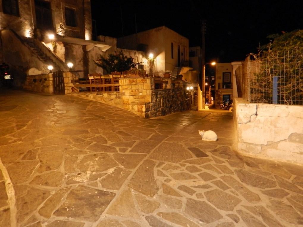 Naxos di sera