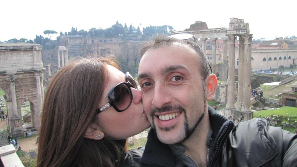 Happy Valentine in Rome