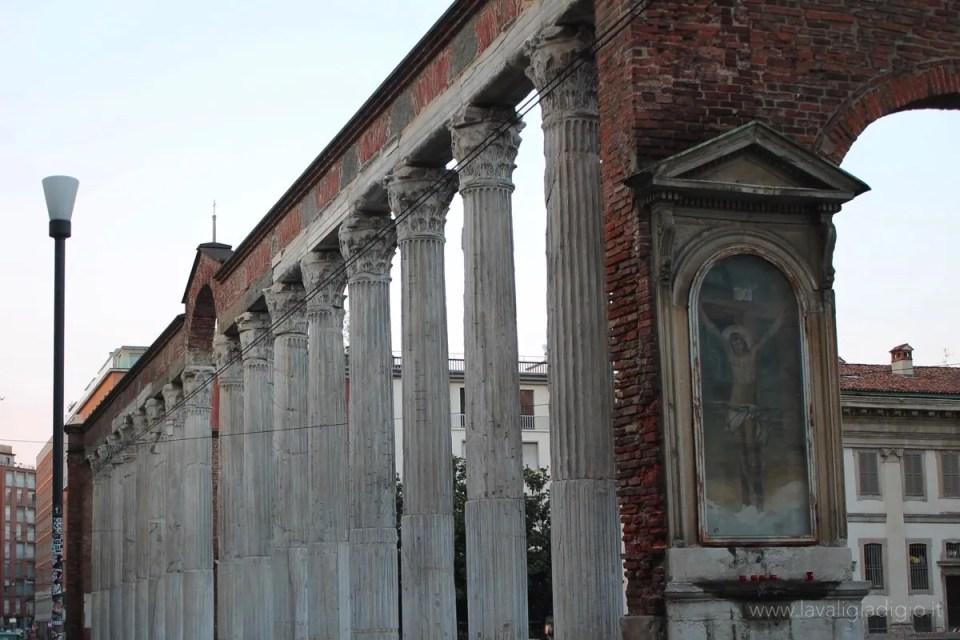 cosa vedere a milano colonne san lorenzo