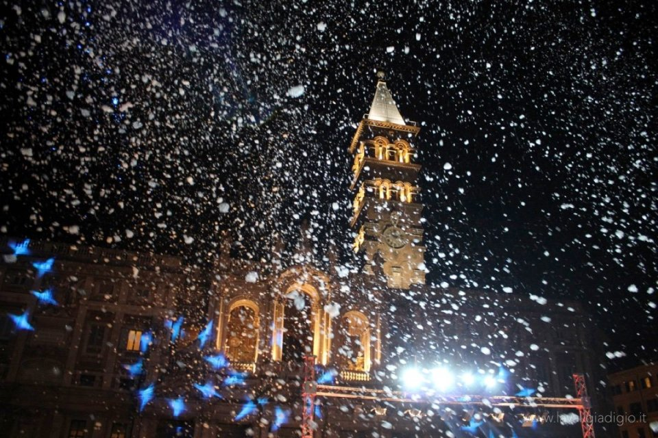 Roma neve del 5 agosto - neve