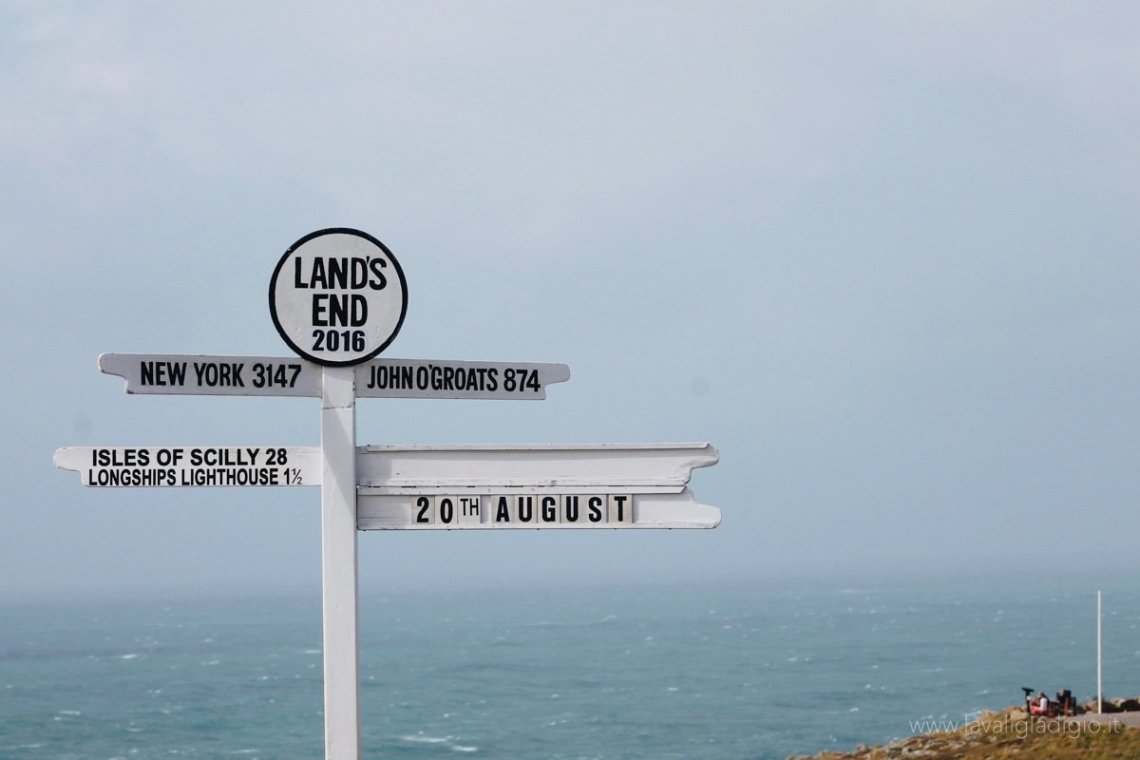 inghilterra del sud itinerario lands end