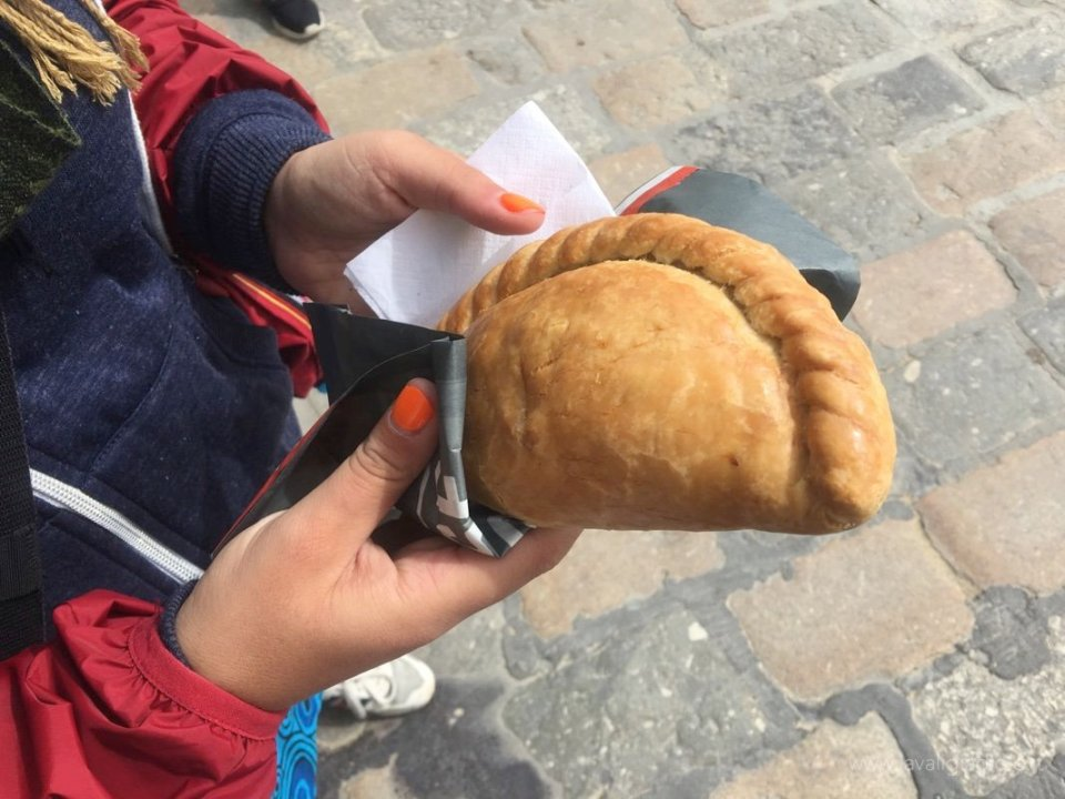 cosa mangiare in cornovaglia - cornish pasty