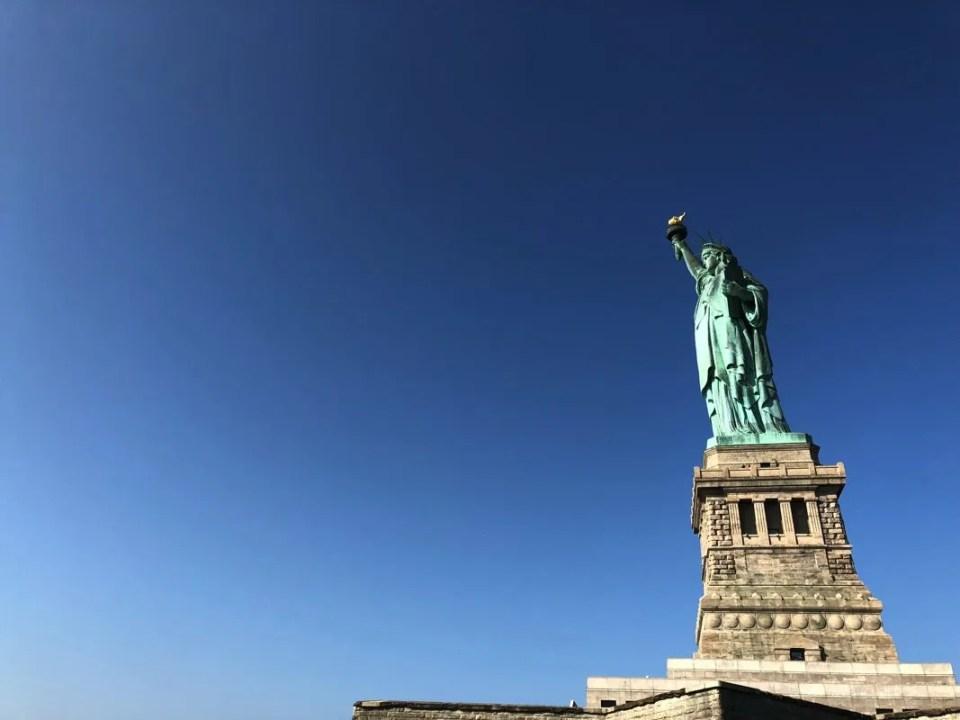 itinerario New York - statua libertà