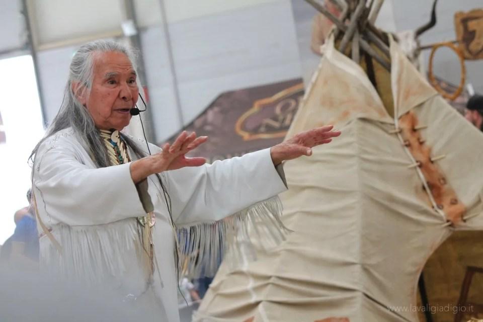 Roma incontra il mondo sciamano