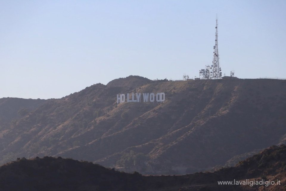 Itinerario in California e Canyon -hollywood hill -  vista da griffith observatory