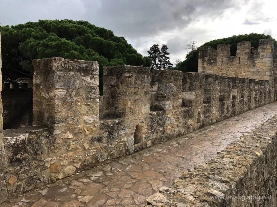 cosa vedere a Lisbona in tre giorni  Castelo de Sao Jorge