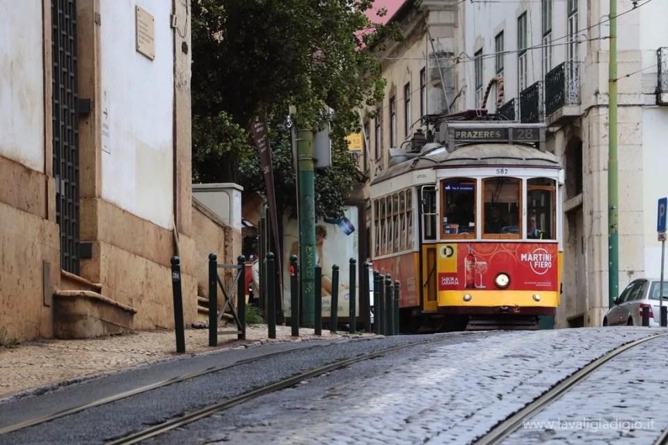 cosa vedere a Lisbona in tre giorni  tram 28
