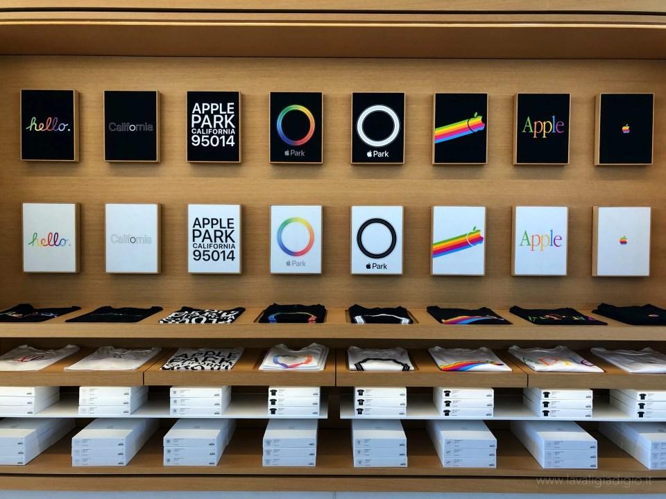 Apple Park visitor center  merchandising