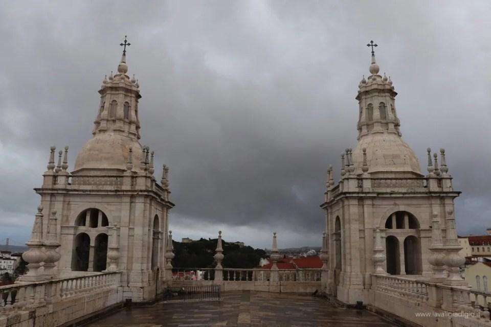 Lisbona dall'alto - sao vicente de fora